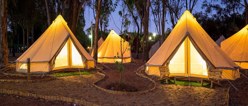Camping in Tsavo National Park